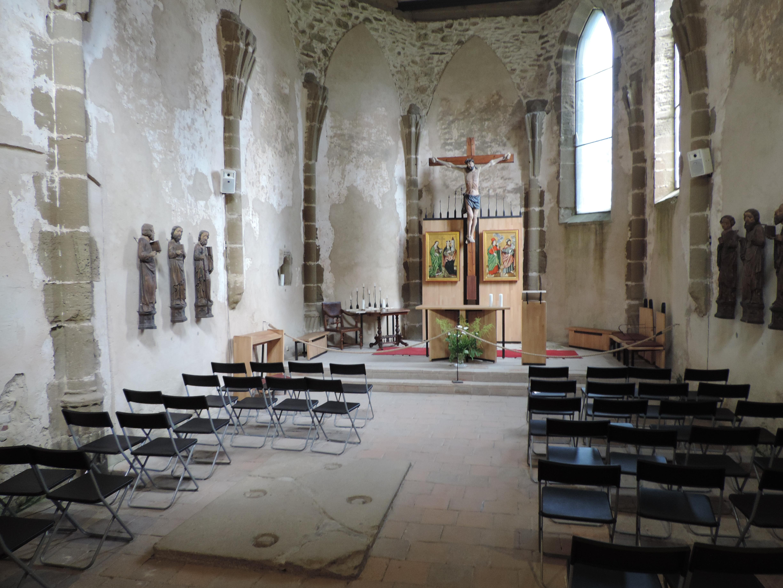 spissky hrad - kaplnka