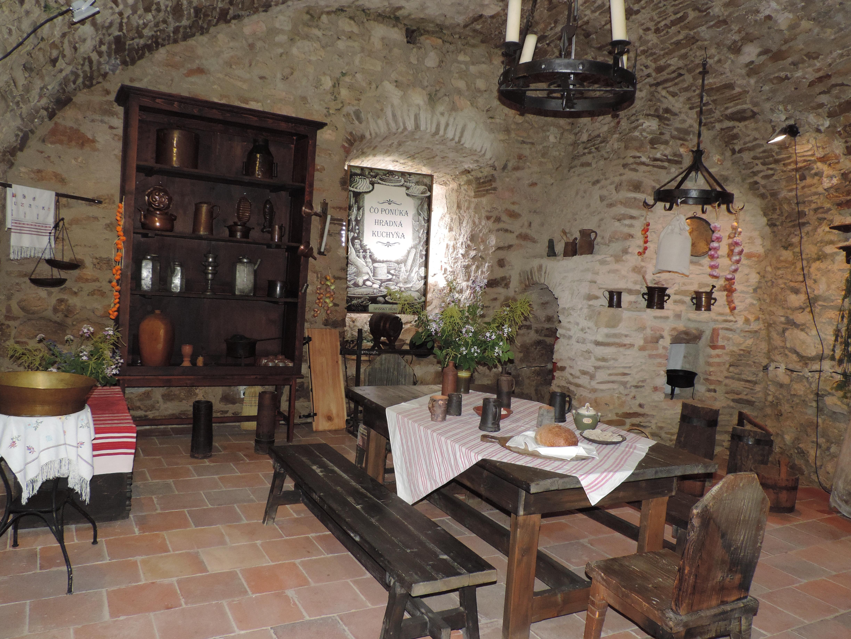 spissky hrad - kuchyna